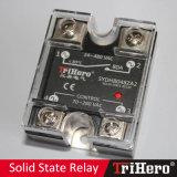 relais semi-conducteur SSR monophasé de 80A AC/AC