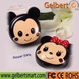 Atacado Cute Mickey Mouse Portable Power Bank com RoHS