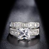 Кольцо конструкции способа для ювелирных изделий венчания CZ любовников