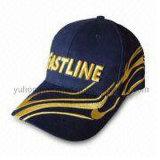 Le coton rayé folâtre le chapeau de base-ball, chapeau neuf d'ère de Snapback