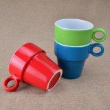 De Kleurrijke Ceramische Kop thee Staclabe van de glans voor Bevordering