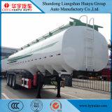 Tanker des Öl-50cbm/Becken-LKW-halb Schlussteil