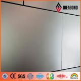 Материал крышки стены Ideabond серый металлический PVDF внешний алюминиевый (AF-400)