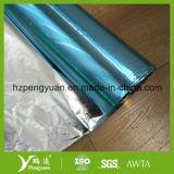 Film bleu d'animal familier de papier d'aluminium pour l'armature de câble d'Elecronic