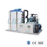 Soluzioni commerciali professionali 1 dei sistemi del ghiaccio alla macchina di ghiaccio del fiocco 30tons per elaborare dei frutti di mare