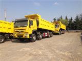 La Chine gros camion 12 Sinotruck pneus camion à benne basculante Prix HOWO Dump