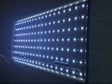 LED de la publicité d'affichage textile en aluminium