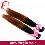 Migliori capelli umani diritti serici di vendita dei capelli di Omber del grado 7A