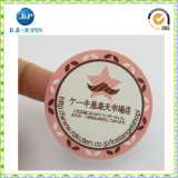 Collant adhésif rond d'étiquette des aliments d'impression polychrome (JP-s067)