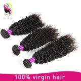 Het goedkope Braziliaanse Kroezige Haar van het Haar van de Krul Maagdelijke Natuurlijke Onverwerkte Menselijke