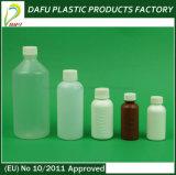 Bottiglia di plastica liquida della medicina dell'HDPE 500ml con la protezione di plastica