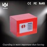 Rectángulo de depósito seguro electrónico colorido de Digitaces pequeño mini para el hogar