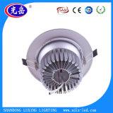 Bajada de LED de luz LED de luz, luz tenue de la vivienda, 7W 9W 12W 18W 24W Downlight LED