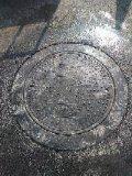 Couverture de trou d'homme lourde municipale de drain de sûreté faite sur commande de la taille En124