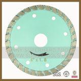 """Diamond inclinés de 4,5"""" lame de scie circulaire pour la Coupe de pierre (sy-DSB-55)"""