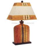 Peinture couleur européens de gros des lumières décoratives lampe de table en céramique