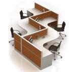 製造業者直接Sのタイプスタッフの働くオフィスの区分(SZ-WST656)
