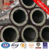 粉Coating 12m Galvanized Steel Tubularポーランド人Fasctory