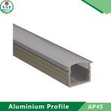 Perfil de alumínio de alta qualidade para a luz de tira do diodo emissor de luz