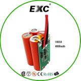 Energiereiches Density, Longer Storage Life 4s4p 14.8V 18650 Li-Ion Battery Pack 4000mAh