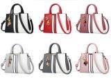 De klassieke Manier van de Riem van Pu Witte en Zwarte Dame Handbag Hot Sell Bag (WDL0195)