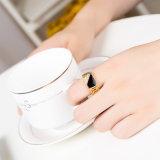 Размер 7-12 классический Gold-Color Rhinestone мужчин кольцо