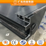 Finestra di scivolamento di alluminio di vetro del fornitore del doppio cinese di valore alto