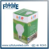 A luz de bulbo a mais quente do diodo emissor de luz da lâmpada E27 9W com dissipador de calor