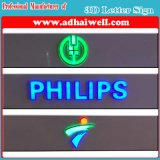 3D LED Letter Brand Sign와 Logo Signages LED Sign