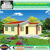 EPS 시멘트 방수 강철 조립식 집, 저가 Prefabricated 집