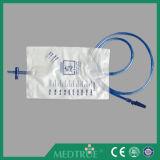 CE/ISO genehmigte 2000ml Ziehen-Drücken Ablassventil-Urin-Beutel (MT58043001)