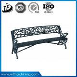 屋外カスタマイズされた砂型で作る鉄かパブリックまたは庭または公園のベンチの足