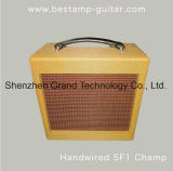 黒(G-5)の壮大な拡大/チャンピオン5f1 Handwiredのギターのアンプ
