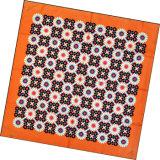 Sciarpa quadrata della signora Fashion Flower Printed Silk (HC1310)