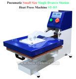 St-D2 scelgono dissipare fuori dispongono la macchina pneumatica della stampante di stampa della pressa di calore della maglietta