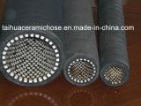 Alta abrasión que resiste el tubo de cerámica