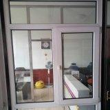 Material de construção com vidro duplo perfil Janela UPVC branco para o Project House
