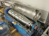 Descarga de espiral horizontal automático de la Virgen de la máquina centrífuga del decantador de aceite de coco