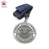 Il metallo antico di nichelatura mette in mostra l'onore della medaglia di giorno