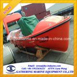 Solas de Buitenboord en Binnenwaartse Mariene Boot Met motor van de Redding