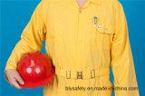 Vêtements de travail bon marché de combinaison de longue de chemise du polyester 35%Cotton de 65% qualité de sûreté (BLY1026)
