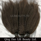 Lilibeautyltd 2017 Hot Sale les faisceaux de tissage de Cheveux humains indiens Remy Hair couleur naturelle Kinky Straight hair extension