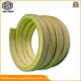 En fibre aramide possède une excellente la résilience d'emballage, Self-Lubrication, souplesse, résistance à l'abrasion, haute résistance à la traction, bonne résistance chimique et ainsi de suite