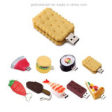 Caricature d'aliments colorés Open-Design lecteur Flash USB