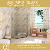 China-bester flacher Rand-freier sich hin- und herbewegender schiebender ausgeglichener Dusche-Tür-Glas-Großverkauf