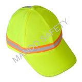 Protezione del casco del &Taslon del poliestere con il nastro riflettente
