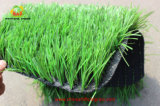 China Golden Supplier Artificial Football Grass com sistema ISO