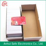 Tarjeta de PVC de inyección de tinta blanca de 0,76 mm