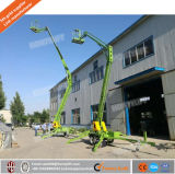 6-16m Diesel-Energien-hydraulischer gegliederter Schlussteil-Towable Hochkonjunktur-Aufzug für Verkauf