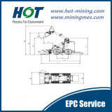 Миниый затяжелитель машинного оборудования конструкции затяжелителя Alh280 кормила скида миниый